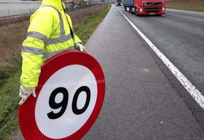 Hoy entran en vigor los nuevos límites de velocidad en carreteras convencionales