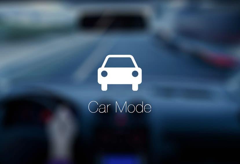 """""""Modo coche"""" para los teléfonos móviles"""
