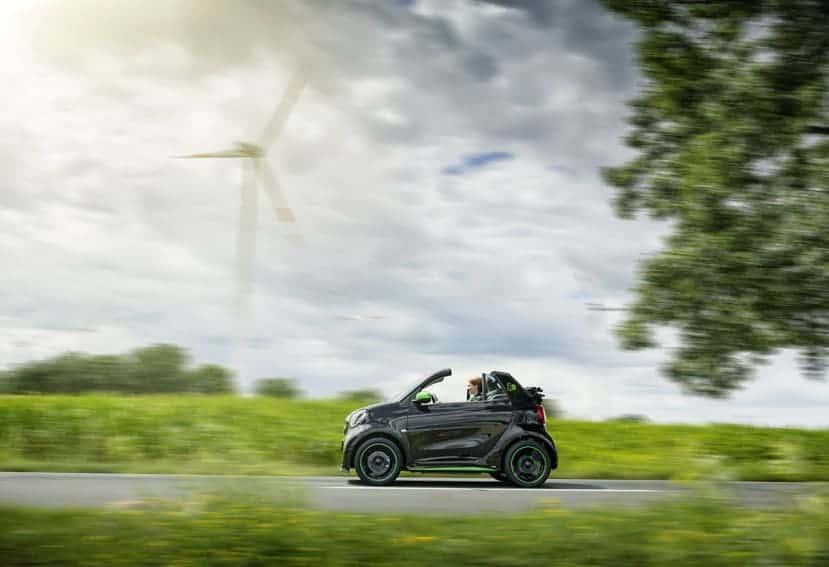 El efecto de conducir un coche eléctrico