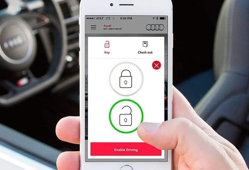 Una llave digital para nuestro coche
