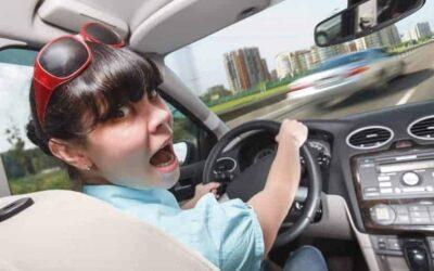 Los errores de los conductores noveles