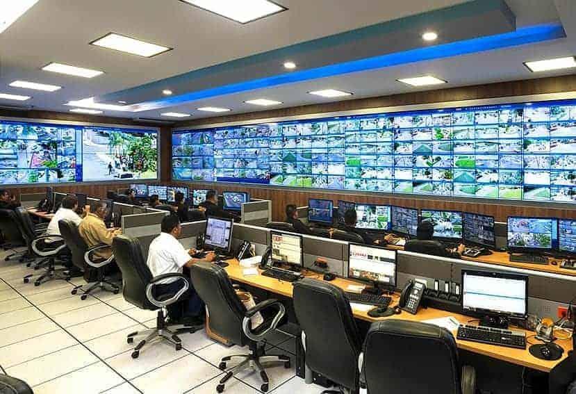 Empresas de transporte público de México conectadas al C5