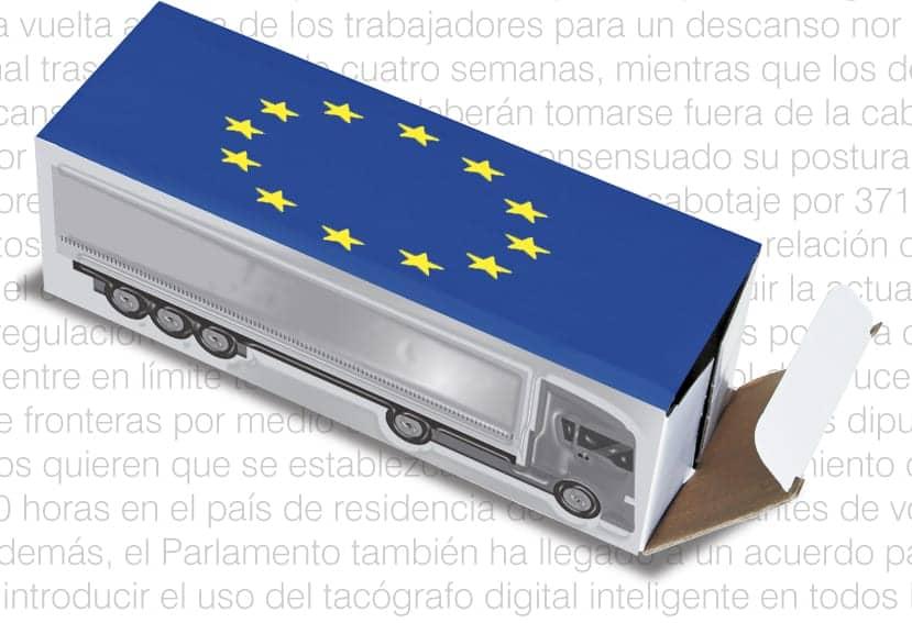 El Parlamento Europeo acuerda los tiempos de conducción y descanso