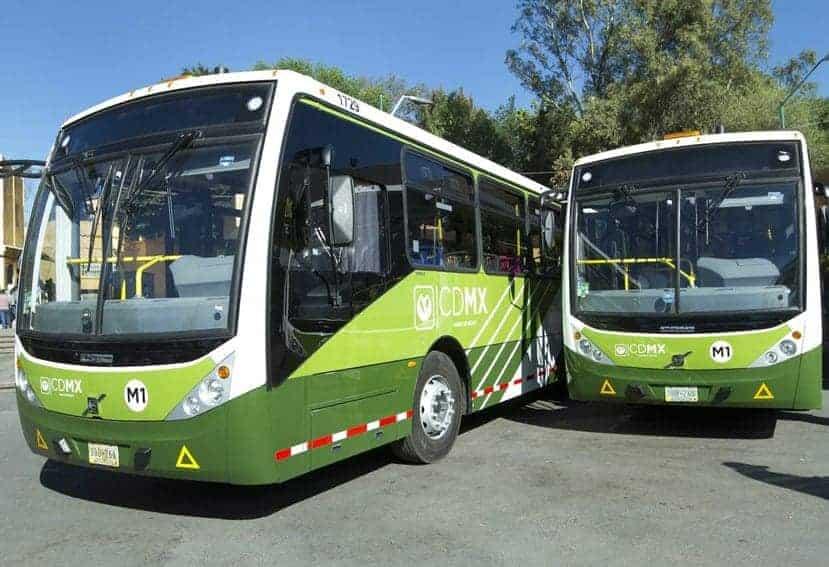 El transporte público eléctrico ya es posible en Ciudad de México