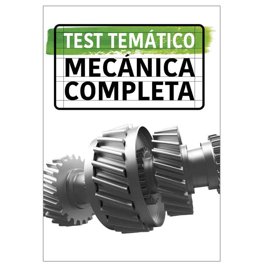 test mecánica