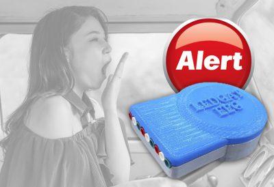 detector de sueño para conductores