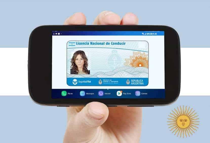 Argentina ofrece la versión digital de la licencia de conducir