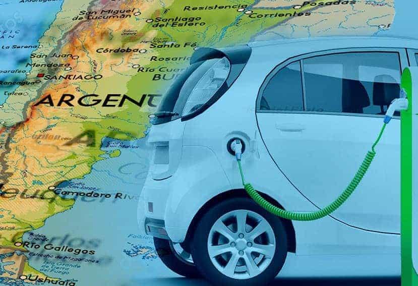 Vehículos eléctricos en Argentina