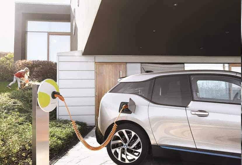 Cargar el vehículo eléctrico