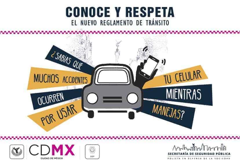 Modificaciones en el reglamento de tránsito de México