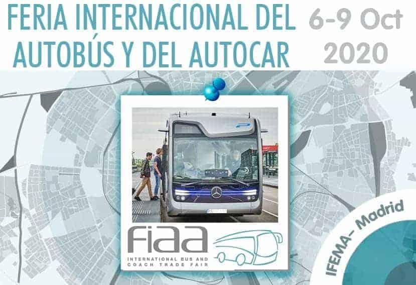 FIAA 2020: Feria Internacional del Autobús y del Autocar