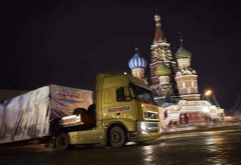 Acuerdo entre España y Rusia sobre transporte internacional por carretera