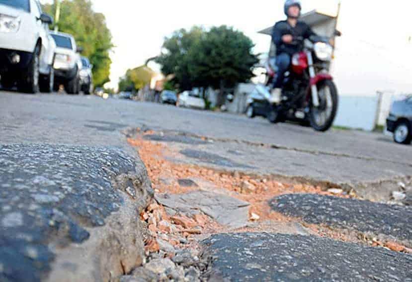 Las carreteras son un riesgo para los motoristas