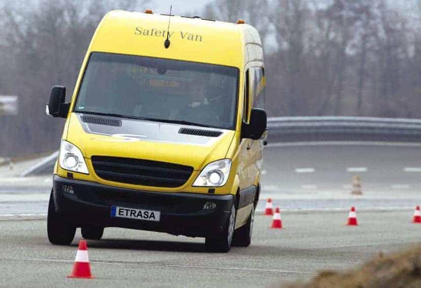 Los sistemas de seguridad de las furgonetas deben mejorar