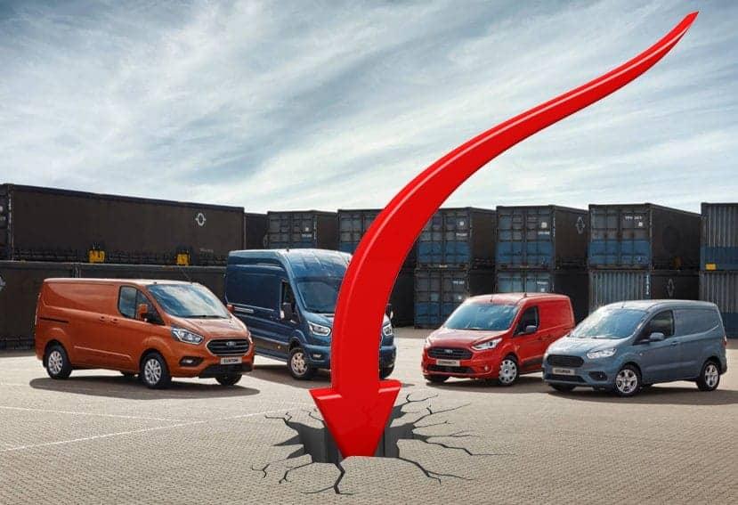 Desciende el mercado de vehículos comerciales