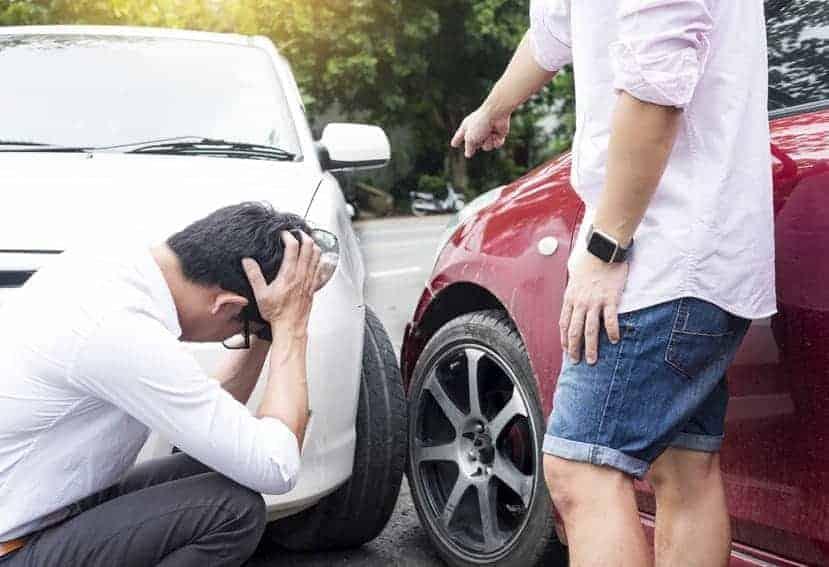 culpa en un accidente