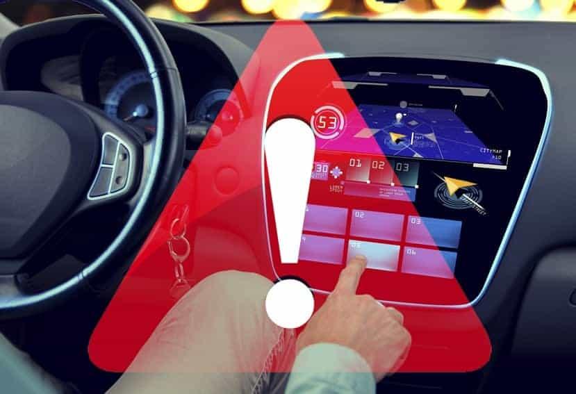 Tecnologías peligrosas para los conductores