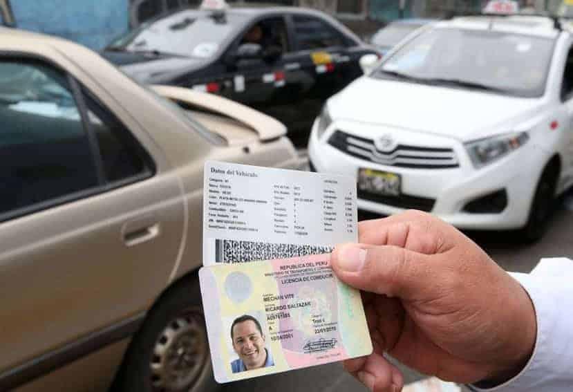 recategorizar tu licencia de conducir