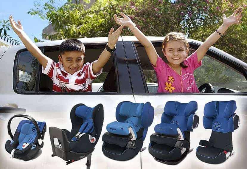 Elegir un asiento infantil