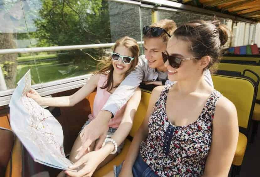 Impulso del transporte turístico en autobús