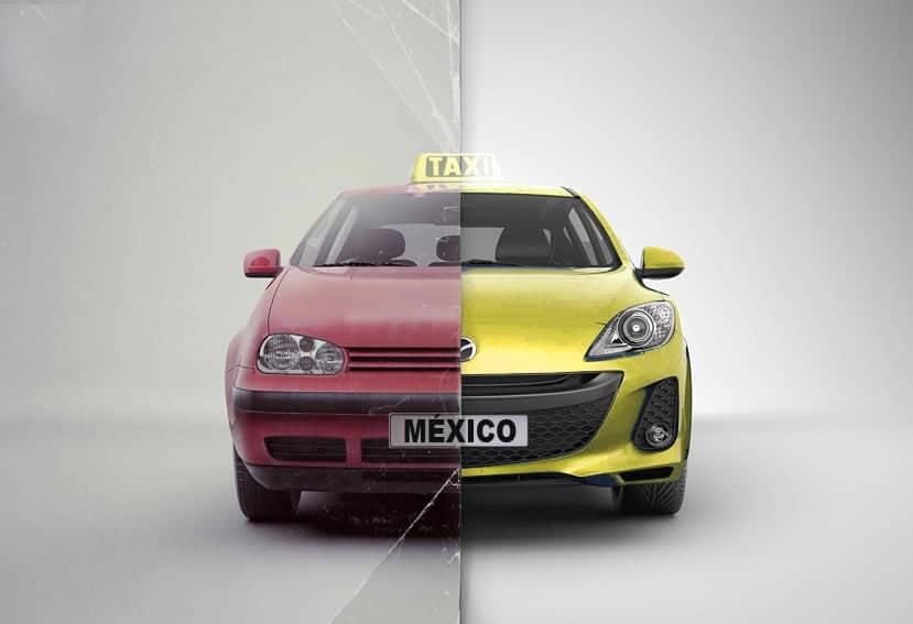 México: Programa de sustitución de taxis