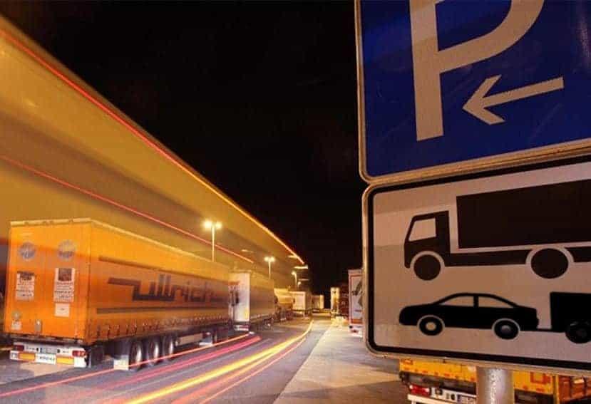 La UE asignará 60 millones de euros para conseguir áreas de aparcamiento seguras