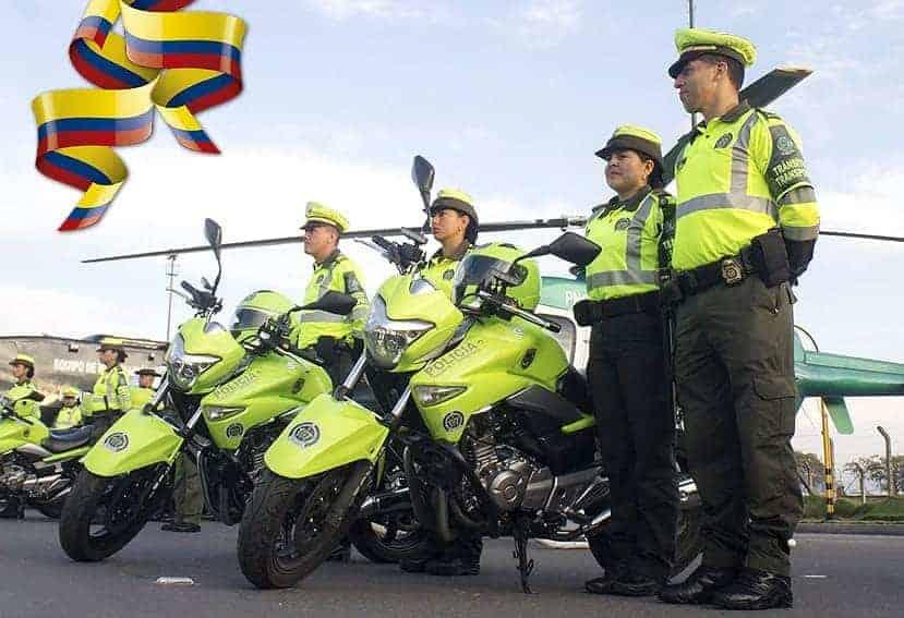 La Policía de Tránsito y Transporte custodiará las vías de Colombia durante estas fiestas