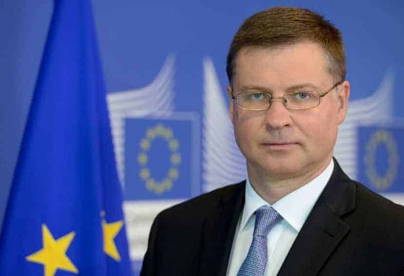 Valdis Dombrovskis paquete de movilidad