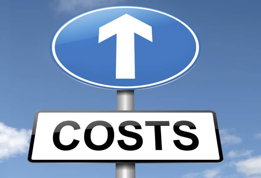 subida del costo de carga