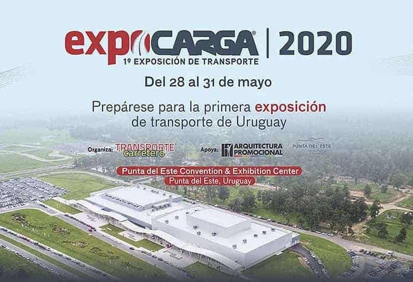 Se celebra en Uruguay ExpoCarga 2020