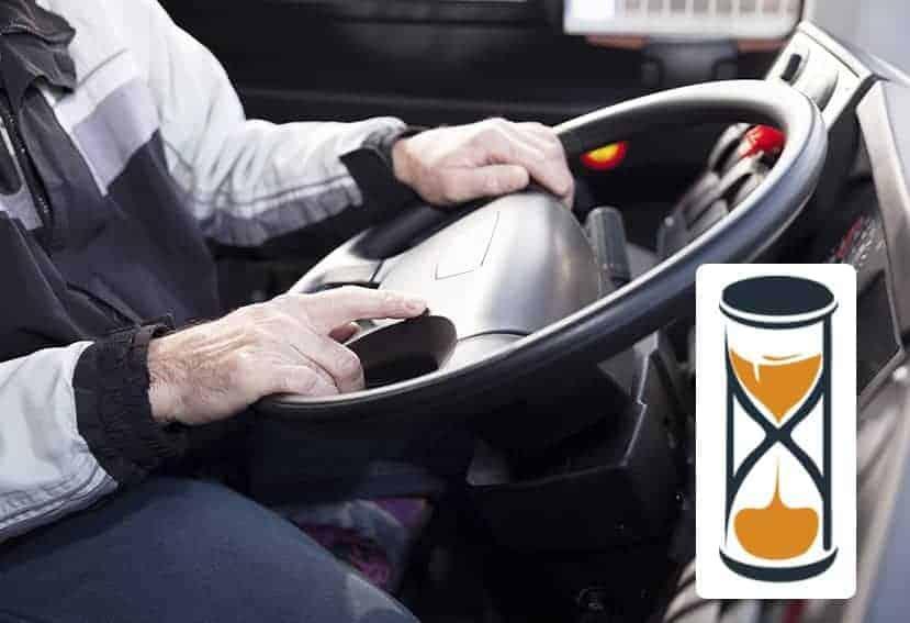 La infracción más común entre los conductores profesionales es el exceso de horas de conducción