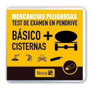 Pendrive test examen Mercancías peligrosas (Básico + cisternas)