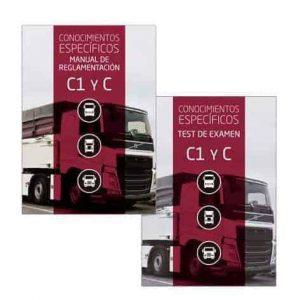 Pack permiso C1 - C (MANUAL + TEST EX. C1-C)